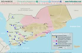 Map Of United States During Civil War by Yemen U0027s Civil War Map Of Control In June 2015 Political