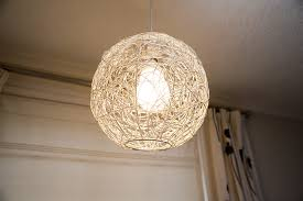 Wicker Light Fixture by Image Of Hand Crafted Rattan Or Wicker Globe Lampshade Freebie
