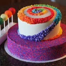 heavenly cake pops rainbow cake