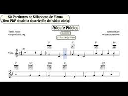50 christmas carol video sheet music for violin pdf book with