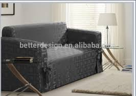 Ready Made In Stock Polyester Simple Sofa Cover Design Fabric - Sofa cover designs