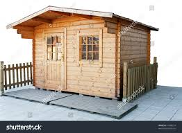 small cottage house made oak wood stock photo 17688574 shutterstock