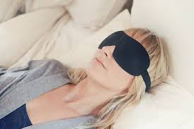 amazon com luxury patented sleep mask nidra deep rest eye mask
