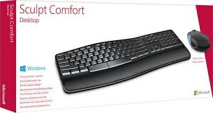 Ms Sculpt Comfort Desktop Funk Tastatur Maus Set Microsoft Sculpt Comfort Desktop