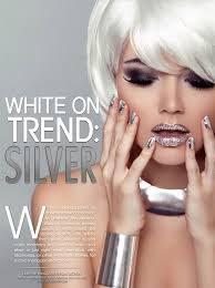 What Is The Hottest Color Silver White On Trend U2013 Irenavision
