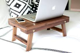 lighted laptop desk tray to build a folding lap desk or breakfast tray
