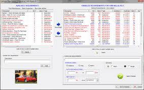 ford truck maintenance schedule the original car care software free car maintenance