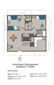grand floor plans grand forest apartments slu