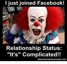 Facebook Relationship Memes - i just joined facebook relationship status it s complicated