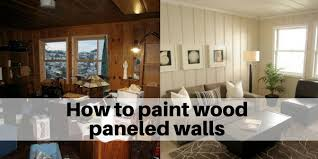 painted wood walls how to paint wood paneled walls the flooring