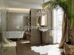 Safari Bathroom Ideas Safari Style Bathroom With Leopard Print Accents More Safari