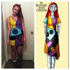 nightmare before christmas costumes sally nightmare before christmas costume diy rawsolla