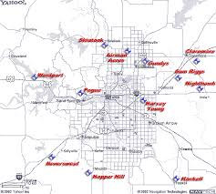tulsa airport map tulsa area airports gcufo