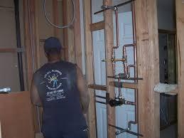 wilmington bathroom shower rough in temperature and steam control