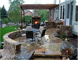 Outdoor Brick Fireplace Grill by Patio Ideas Brick Patio Outdoor Brick And Stone Patio Images