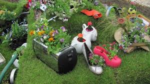 Flower Planter Ideas by Garden Toaster And Small Appliance Planter Ideas Catch A