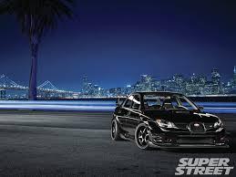 hawkeye subaru rally super street feature 2007 subaru wrx sti u2013 baby got black