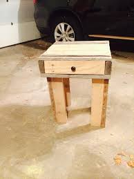 recycled pallet nightstands with drawers pallet furniture plans