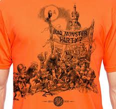 T Shirt Halloween Mad Monster Party T Shirt Halloween Edition Miser Bros Press