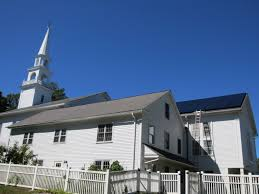 solar panels project first congregational church of woodstock