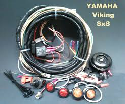 Yamaha Yfz 450 Wiring Diagram Yamaha Viking Turn Signal Horn Kit Sealed Loomed Wiring Harness