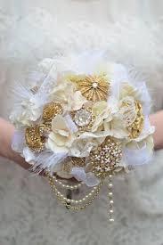 Bridal Bouquet Ideas Bridal Bouquets Without Flowers For Non Traditional Brides Unique