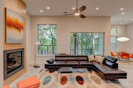 fireplace wall mount fireplace and modular sofa in modern living