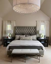 uncategorized upholstered headboard wooden bedframe table lamp