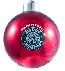 it s okay to say merry ornament say merry