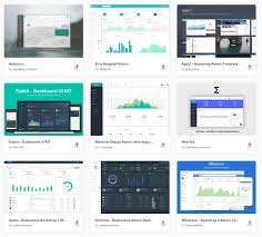 top 22 free responsive html5 admin u0026 dashboard templates 2017