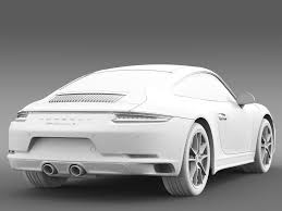 porsche carrera 2016 porsche 911 carrera 4 coupe 991 2016 3d cgtrader
