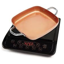 Induction Cooktop Cookware Copper Chef Induction Cooktop Walmart Com