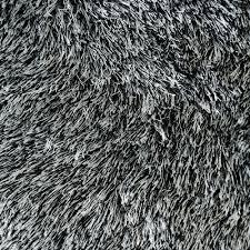 White Soft Rug Shaggy Soft Rug With Silk Texture In Black U0026 White Icustomrug