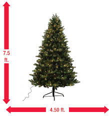 home accents 7 5 ft yukon spruce set artificial