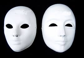 white masquerade masks for women aliexpress buy thicken diy plain white masquerade masks