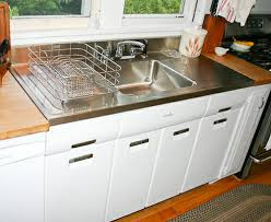 Kitchen Sinks With Drainboards Joe Replaces A Vintage Porcelain Drainboard Kitchen Sink With A
