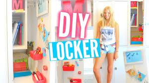 Ideas For Locker Decorations Back To Locker Organization U0026 Diy Decorations Youtube