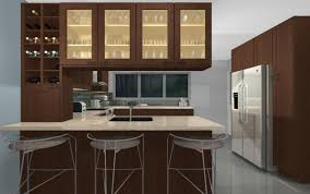 peninsula kitchen cabinets home decor color trends contemporary on