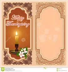 thanksgiving day vintage computer graphic background with candle
