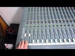 Sound Desk Soundcraft Spirit 32 Channel Mixing Desk Ebay Demonstation