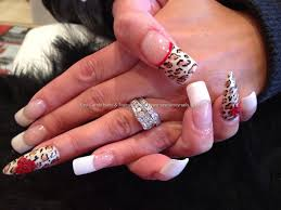eye candy nails u0026 training freehand leopard nail art with 3d