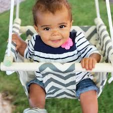 siege balancoire b toile et bois bébé toddler safety fauteuil suspendu balançoire siège