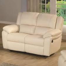 ivory leather reclining sofa wildon home baxtor leather reclining loveseat color ivory at