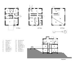 Gallery Floor Plans by Gallery Of House With Square Opening Nks Architects 16