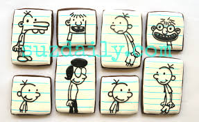 how to make u201cdiary of a wimpy kid cookies u201d suz daily
