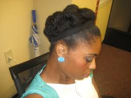 simple natural hairstyles for short hair cute natural hairstyles