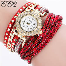crystal bracelet watches images Ccq watch women brand luxury gold fashion crystal rhinestone jpg