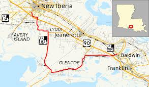 louisiana highway map louisiana highway 83