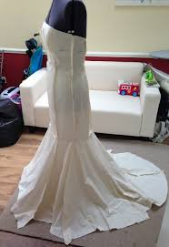 make your own wedding dress fishtail wedding dress pattern stage 1 make your own wedding