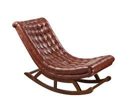 Aliexpresscom  Buy Modern Design Rocking Lounge Chair Leather - Design rocking chair